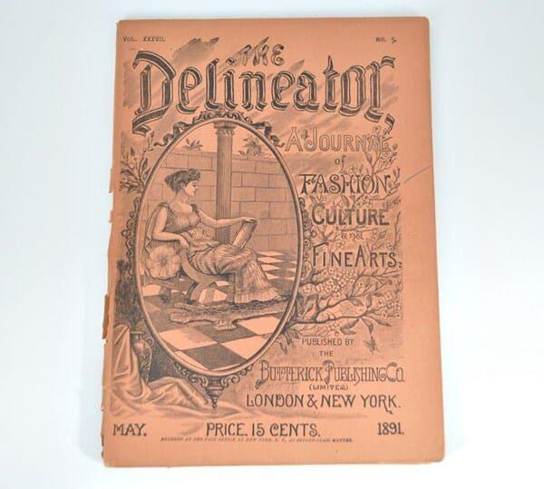 1891 Delineator Magazine