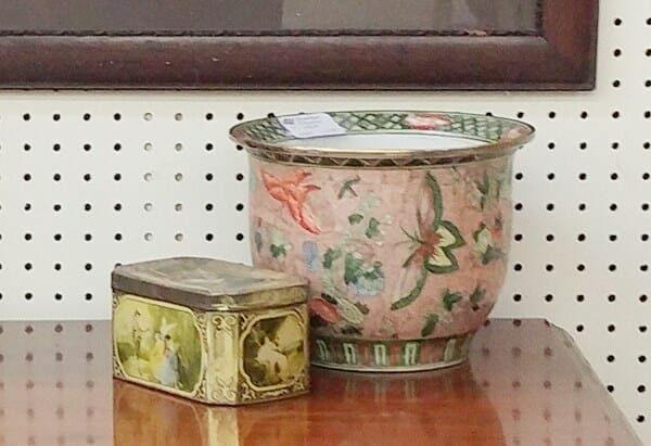 Pink Oriental Planter