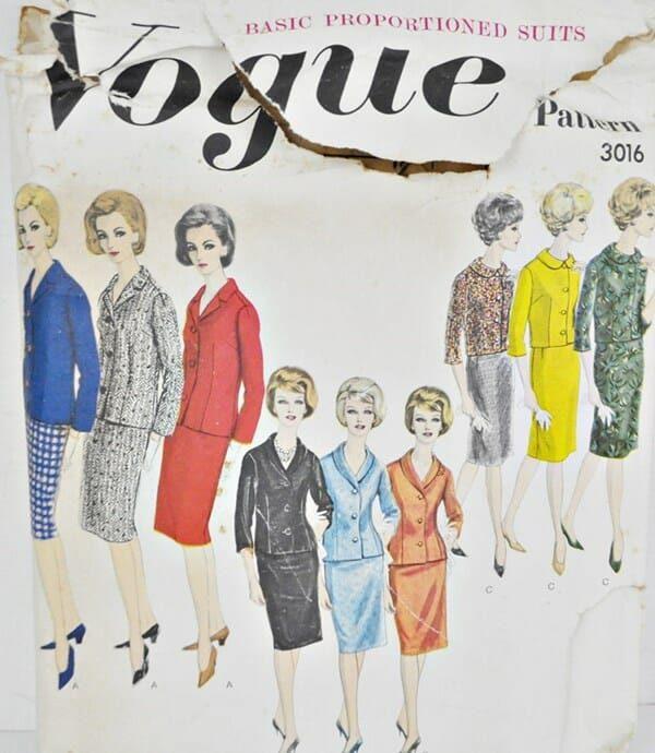 Vintage Vogue Pattern 3016