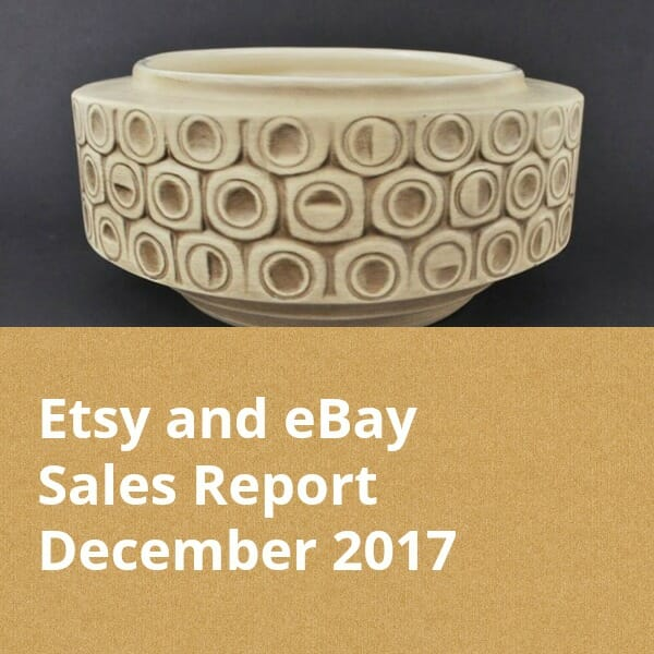 December Online Sales Report Etsy and eBay Vintage and More