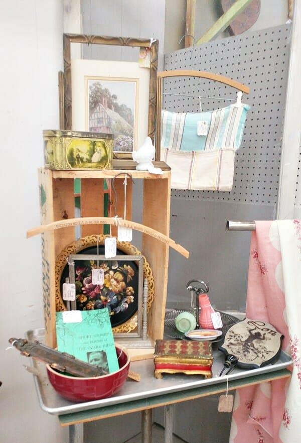 More tabletop booth arrangement