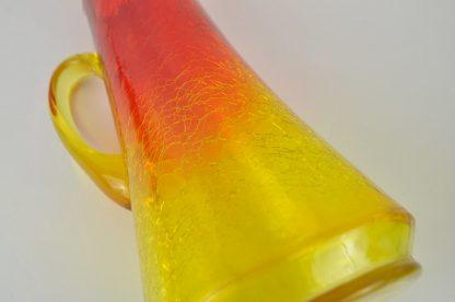 Amberina pitcher close-up