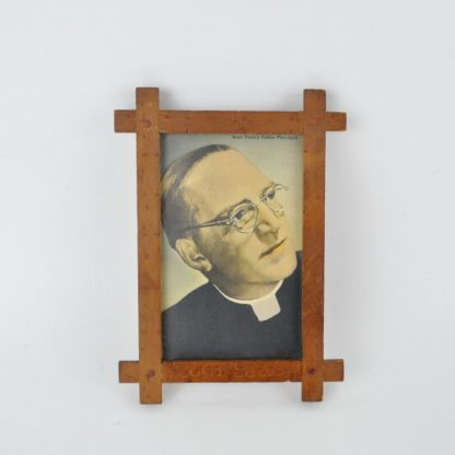 Picture of Father Flannigan in Boys Town Frame