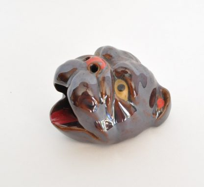 Kitsch bulldog ashtray