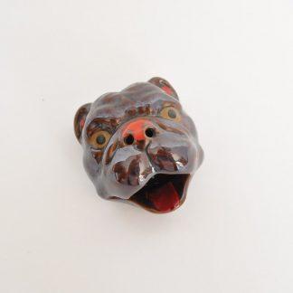 Mid-century bulldog ashtray