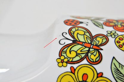 Butterfly Coffeepot Decal