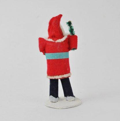 Back of chenille Santa
