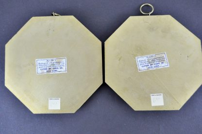 Back of coat of arms plaques
