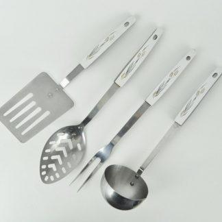 Vintage 1960s Ashton wheat kitchen accessories