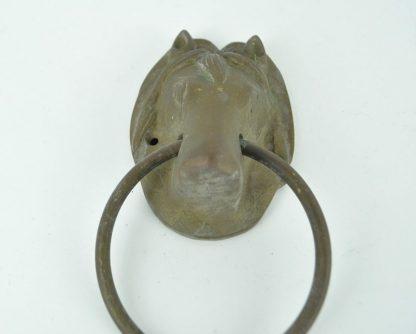 Horse head door knocker
