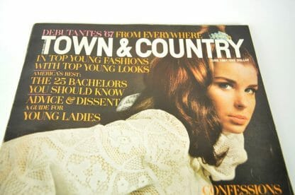 June 1967 Town & Country back issue