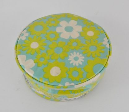 Boho flowers jewelry case