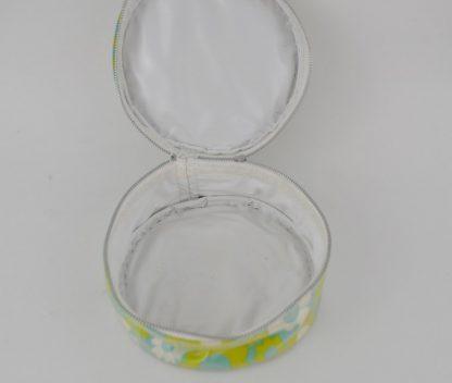 Inside jewelry case