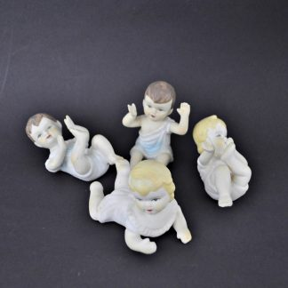 Small piano babies, set of 4