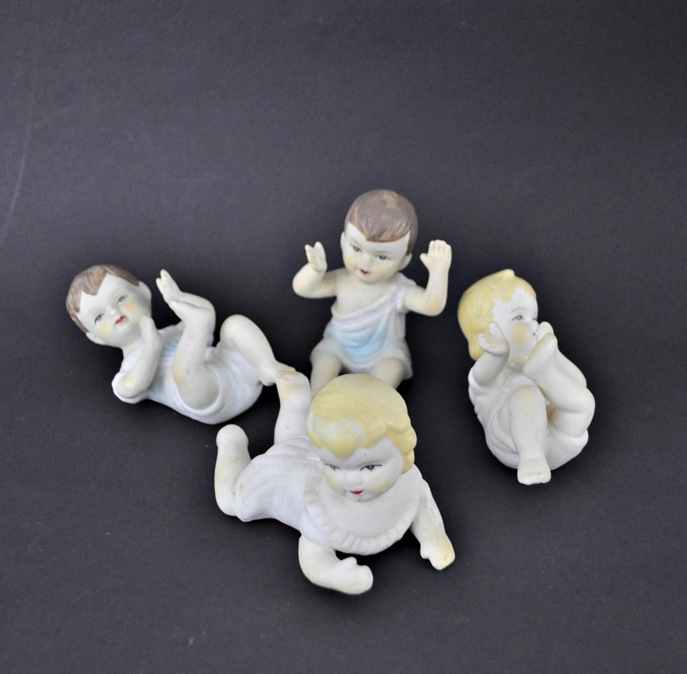 Small Piano Babies Set of 4