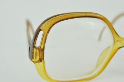 Close-up of vintage Playboy eyeglasses at Just Vintage Home