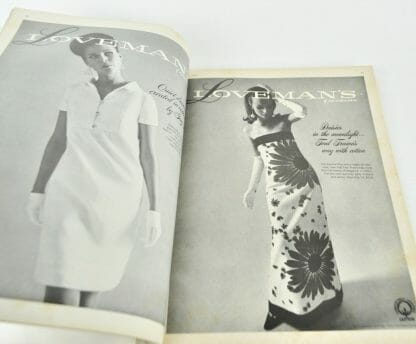 Fashion Ad In June 1967 Town & Country Magazine