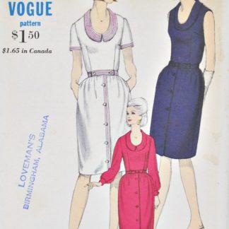 Vintage Vogue 6418 dress pattern
