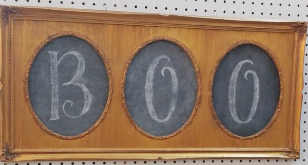 Boo blackboard picture
