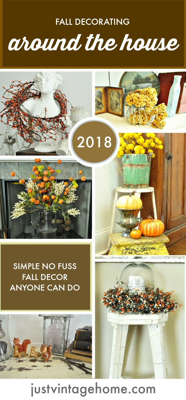 Simple fall decor anyone can do