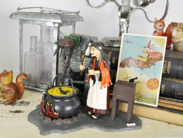 Witch model from the 1960's