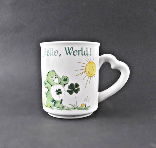 Care Bear mug sold on Etsy