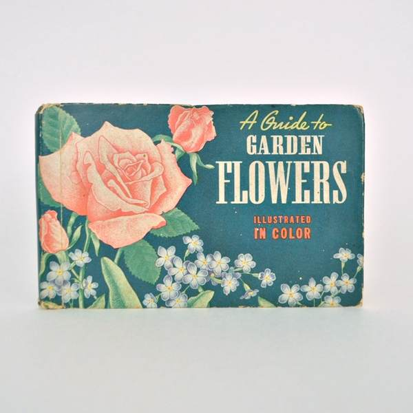 Garden Flowers book sold on Etsy