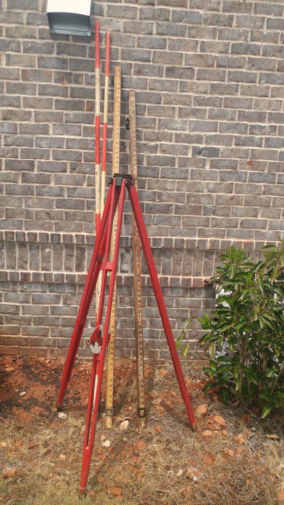 Surveyors' poles