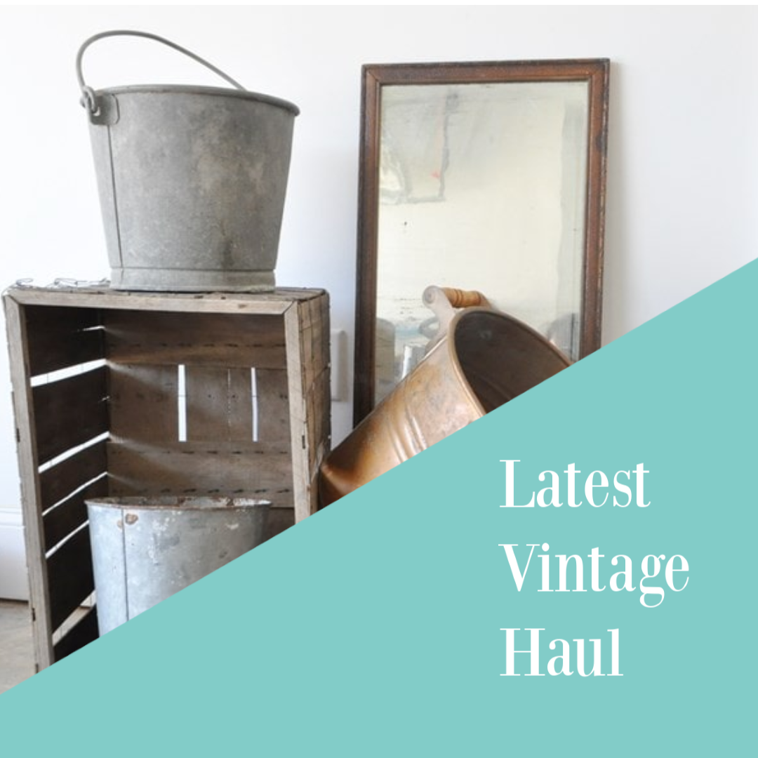 May 2019 vintage haul