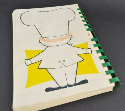 Vintage Holiday Inn Cookbook