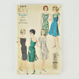 Vintage Vogue 5479