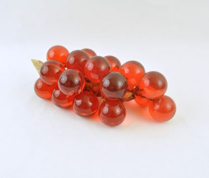 Another view of the lucite grape cluster