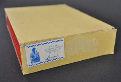 Leonard Salt and Pepper Shakers Box
