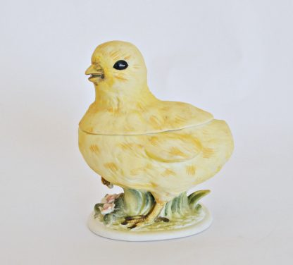 Vintage Lefton Chicken Trinket Box