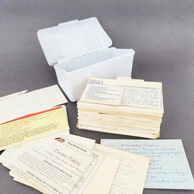Vintage Hand Written Recipes