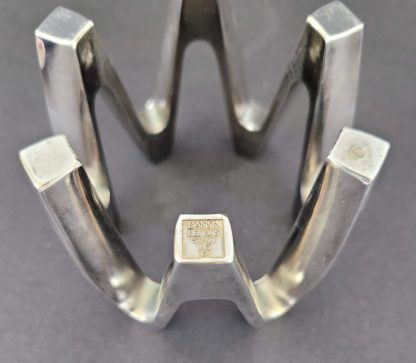 Dansk Crown Design Candle Holder Bottom