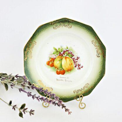 Antique Seaside Oregon Souvenir Plate